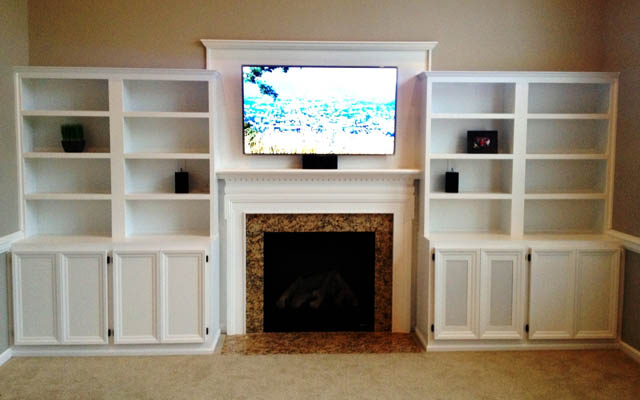 Custom Cabinets For Your Home Office Entertainment Area