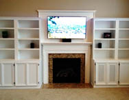 Custom carpentry for your office, entertainment area, bar, wine cellar and other areas