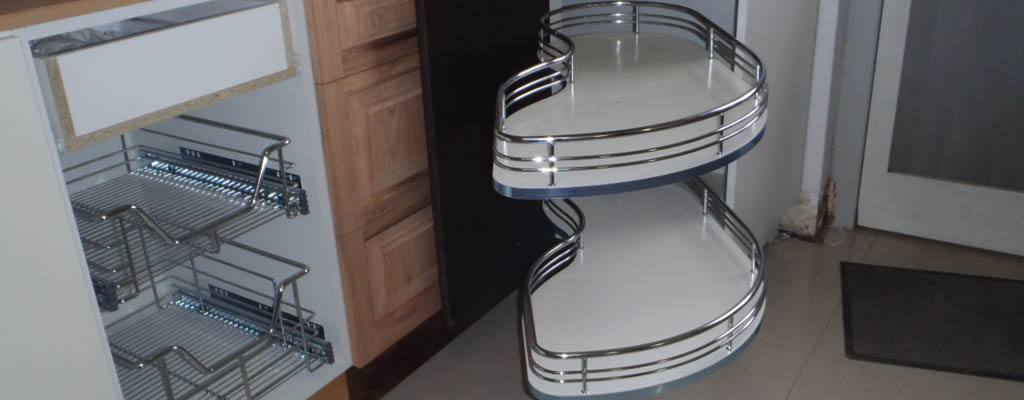 Remove the clutter from your cupboards with smart storage systems
