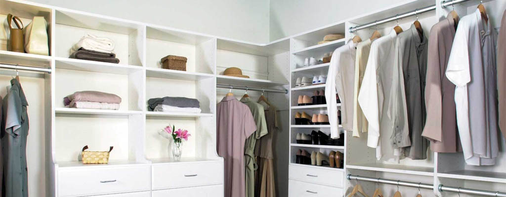 Maximise the storage space in your walk-in robe, yet still get easy access to your clothes.